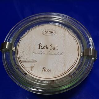 サボン(SABON)の【新品未使用】SABON サボン バスソルト ローズ(入浴剤/バスソルト)