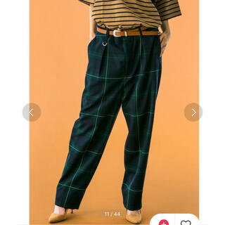 BEAUTY&YOUTH UNITED ARROWS - TW TARTAN CHECK WIDE 1P PANTS