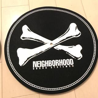 NEIGHBORHOOD - neighborhood ネイバーフッド スリップマット レコード マット2枚組