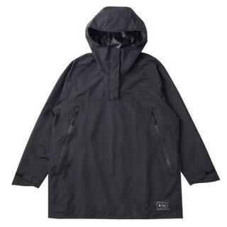 キウ(KiU)のkiu anorak rain jacket black(ナイロンジャケット)