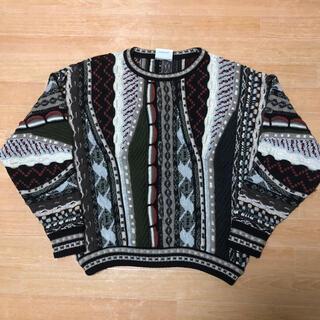 クージー(COOGI)の良品 オーストラリア製 KALAROO 3D ニット セーター L COOGI型(ニット/セーター)