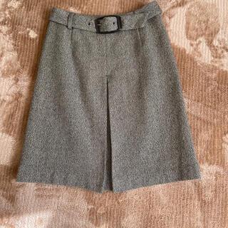 ミッシェルクラン(MICHEL KLEIN)のミシェルクラン 台形スカート(ひざ丈スカート)