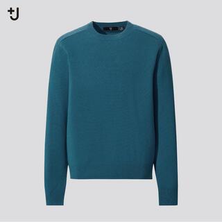 ユニクロ(UNIQLO)のユニクロ ジルサンダー +J  カシミヤブレンドクルーネックセーター(ニット/セーター)