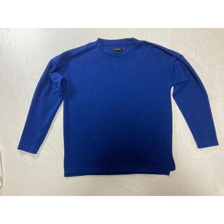 レイジブルー(RAGEBLUE)の【美品】RAGEBLUE 長袖カットソー ブルー XSサイズ(カットソー(長袖/七分))