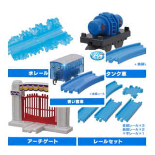 タカラトミーアーツ(T-ARTS)の新品 組み合わせ自由 カプセルプラレール  (電車のおもちゃ/車)