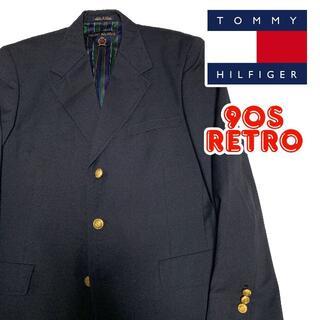 トミーヒルフィガー(TOMMY HILFIGER)の90s トミーヒルフィガー ブレザー 40 L相当 Tommy Hilfiger(テーラードジャケット)