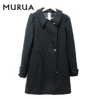 ムルーア(MURUA)のMURUA ムルーア レディース ノーカラー チェスターコート U46(チェスターコート)