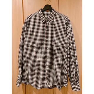ポーター(PORTER)のポータークラシック20ss ロールアップシャツ ブラックXL(シャツ)