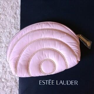 エスティローダー(Estee Lauder)の【新品 未使用】エスティローダー ポーチ 化粧ポーチ シェル型 ピンク(ポーチ)