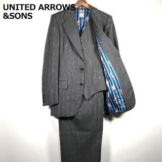 ユナイテッドアローズ(UNITED ARROWS)のUNITED ARROWS&SONS 3ピース スーツ セットアップ(セットアップ)