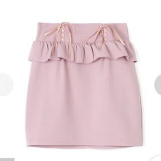 ロジータ(ROJITA)のROJITA ペプラムスカート(ひざ丈スカート)