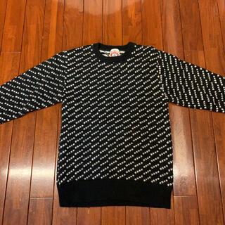 アベイシングエイプ(A BATHING APE)のベイシングエイプ セーター マルジェラ ギャルソン ニット メンズ 美品(ニット/セーター)