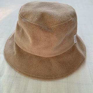 アリシアスタン(ALEXIA STAM)のAlexiastam Terry Cloth Bucket Hat ベージュ(ハット)