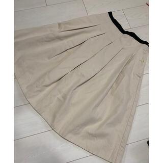 マーガレットハウエル(MARGARET HOWELL)のマーガレットハウエル スカート プリーツ S(ひざ丈スカート)