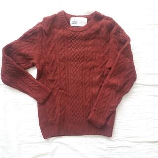 グリーンレーベルリラクシング(green label relaxing)のused グリーンレーベルリラクシング アラン編み セーター (ニット/セーター)