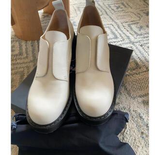 エンフォルド(ENFOLD)のJIL SANDER ジルサンダーネイビー✨レザーシューズ(ローファー/革靴)