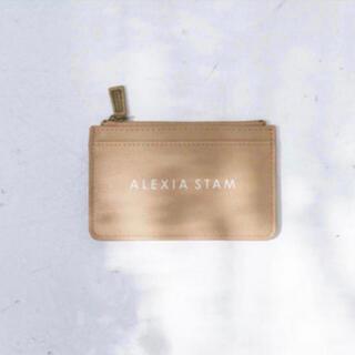 アリシアスタン(ALEXIA STAM)のアリシアスタン  ロゴカードケース(財布)
