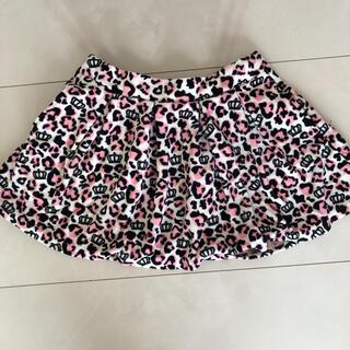 ベビードール(BABYDOLL)の美品BABYDOLL ベロアヒョウ柄スカート(スカート)