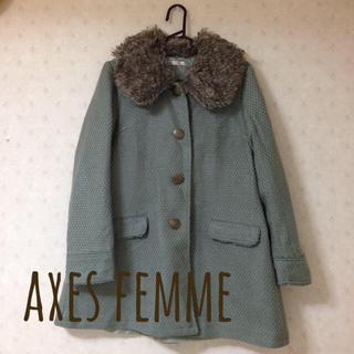 アクシーズファム(axes femme)のaxes コート *♩(ロングコート)
