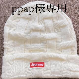 シュプリーム(Supreme)のシュプリーム supreme ニット帽子(ニット帽/ビーニー)