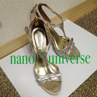ナノユニバース(nano・universe)の!!minty様お取り置き中!!(ハイヒール/パンプス)
