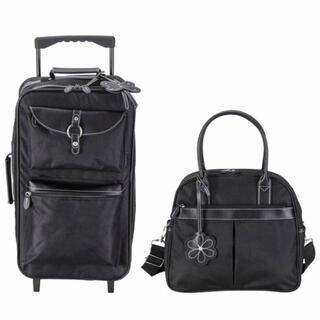 anan アンアン キャリーバッグセット 黒(スーツケース/キャリーバッグ)