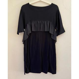 ジルスチュアート(JILLSTUART)のJILL STUART ジルスチュアート ドレス ワンピース 紺 サイズFR(ミディアムドレス)