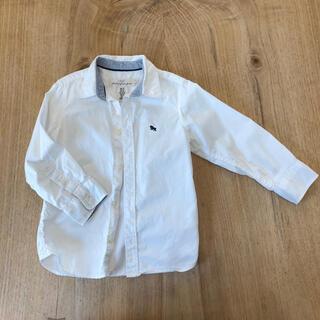 エイチアンドエイチ(H&H)のH&M 3〜4歳 100〜110サイズ白シャツ(Tシャツ/カットソー)