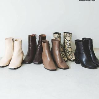ビューティアンドユースユナイテッドアローズ(BEAUTY&YOUTH UNITED ARROWS)の新品未使用basement ブーツ(ブーツ)
