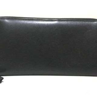 コムデギャルソン(COMME des GARCONS)のコムデギャルソン 長財布 - 黒 レザー(財布)