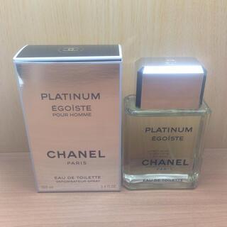 CHANEL - 【新品同様】国内正規品 100ml シャネル エゴイスト プラチナム