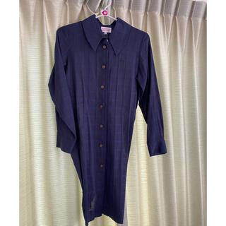 ヴィヴィアンウエストウッド(Vivienne Westwood)のヴィヴィアンウエストウッド ロングシャツ(シャツ/ブラウス(長袖/七分))