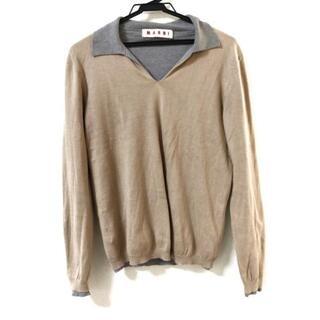 マルニ(Marni)のMARNI(マルニ) 長袖セーター サイズ44 L -(ニット/セーター)