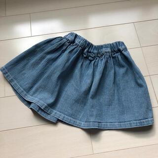 サニーランドスケープ(SunnyLandscape)のサニーランドスケープ デニム スカート 100(スカート)