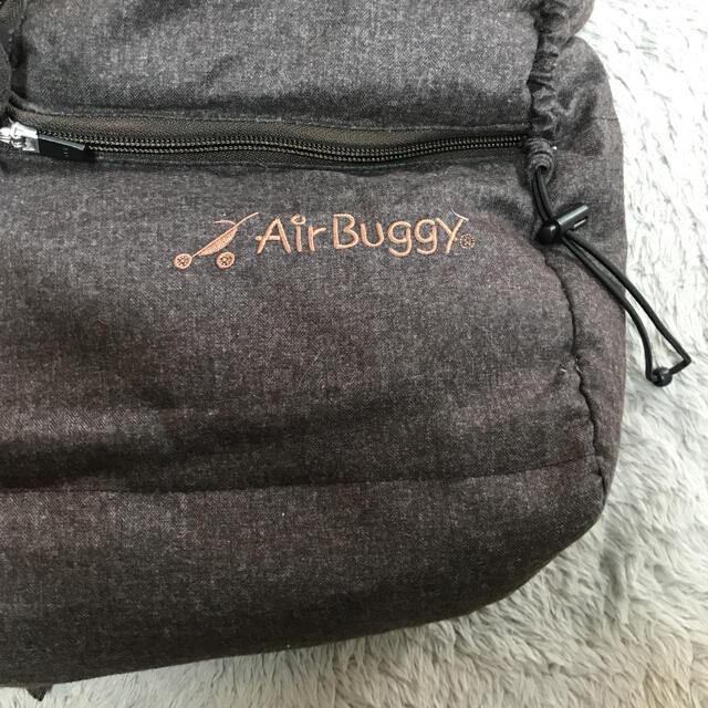 AIRBUGGY(エアバギー)のエアバギー ダウンフットマフ ブラウン  キッズ/ベビー/マタニティの外出/移動用品(ベビーカー用アクセサリー)の商品写真