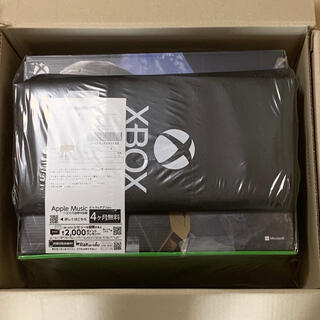 マイクロソフト(Microsoft)の【新品未開封】xbox series x オリジナルデザインエコバッグ付き(家庭用ゲーム機本体)