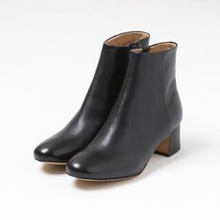オゥバニスター(AU BANNISTER)のmayu様★Au BANNISTER★ショート ブーツ 黒38 オゥバニスター(ブーツ)
