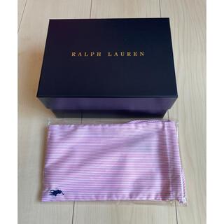 ポロラルフローレン(POLO RALPH LAUREN)のラルフローレン マスク ピンク 未使用 ギフトボックス付き(その他)