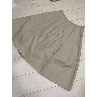 マーガレットハウエル(MARGARET HOWELL)の最終値下げ 美品 マーガレットハウエル ウール スカート(ひざ丈スカート)