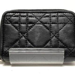 クリスチャンディオール(Christian Dior)のクリスチャンディオール コインケース 黒(コインケース)