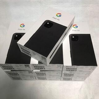 アンドロイド(ANDROID)のひぐ様専用【新品/未使用】GooglePixel4a 128GB/10台まとめ(スマートフォン本体)