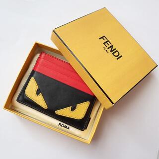 フェンディ(FENDI)のFENDI バッグ バグズ アイモチーフ カードケース モンスター(名刺入れ/定期入れ)