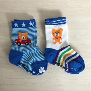 ミキハウス(mikihouse)のミキハウス ベビー 靴下 11〜13センチ 男の子(靴下/タイツ)