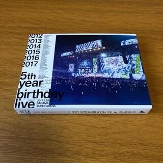 ノギザカフォーティーシックス(乃木坂46)の5th YEAR BIRTHDAY LIVE DVD(ミュージック)