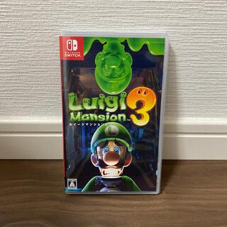 ニンテンドースイッチ(Nintendo Switch)のルイージマンション3 Switch (家庭用ゲームソフト)