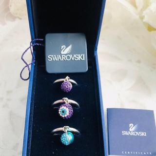 スワロフスキー(SWAROVSKI)のスワロフスキー トリオ リング 正規品 SWAROVSKI 指輪(リング(指輪))