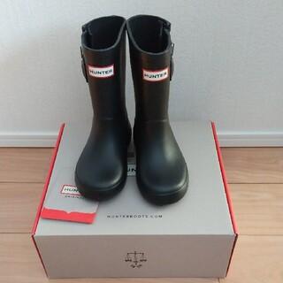 ハンター(HUNTER)の【サイズ UK8(14cm)】レインブーツ(黒)(長靴/レインシューズ)