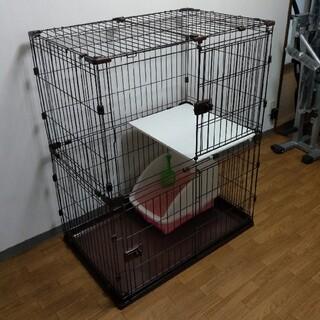 アイリスオーヤマ(アイリスオーヤマ)のネコのペットゲージ トイレ 爪とぎ アイリスオーヤマ(かご/ケージ)