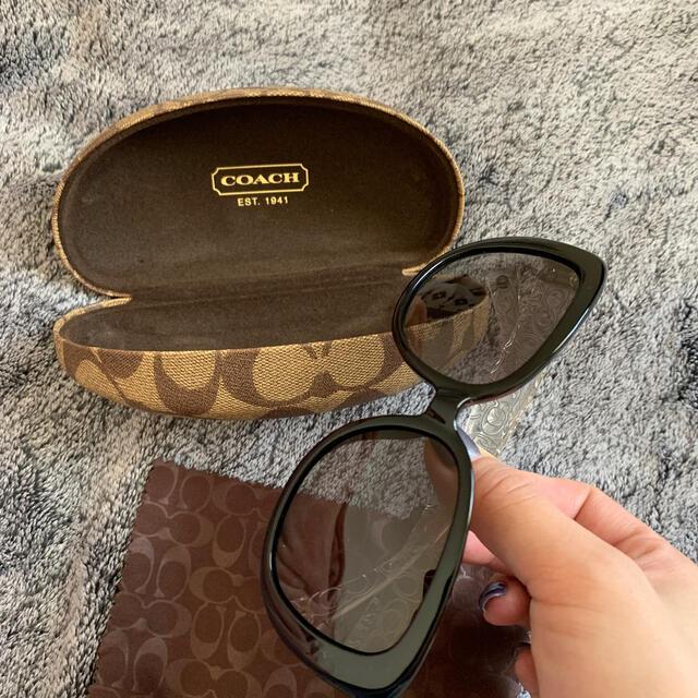 COACH(コーチ)のcoach サングラス レディースのファッション小物(サングラス/メガネ)の商品写真
