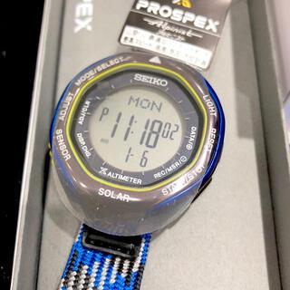 セイコー(SEIKO)のセイコー プロスペックス アルピニスト 限定モデル SBEB041 アイスブルー(腕時計(デジタル))